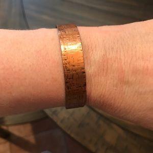 Jewelry - Pair of copper cuff bracelets